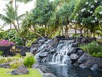 One of the Waterfalls Welcoming People to Ko Olina; 'The Place of Joy'