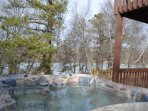 Hot Tub Lake View