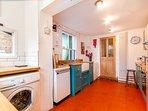 New fully equipped family kitchen : dishwasher, washing machine, tumble dryer