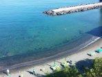Marina di Piano di Sorrento vista dall'alto a pochi passi da casa.
