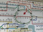 Easy access to anywhere in Tokyo, 3 major train and subway