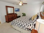 Upstairs King Master Bedroom w/En-Suite Bath & Flat Screen TV w/Cable - View #3