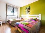 habitación 2 camas 1,05 cm.