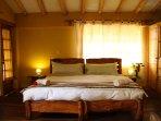 King bedroom or 2 singles!