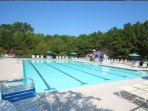 Pool is open in the summer months! Swim or lounge around in the sun