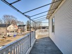 This home lies in a quiet neighborhood just steps from the Seekonk River.