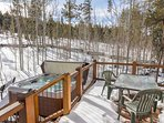 Winter view from the rear deck