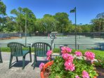 Palmetto Dunes has 25 Tennis Courts and 8 Pickle Ball Courts.