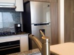 All new and modern appliances with added custom cabinetry