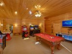 Your family and friends will love our game room with fun for all ages!