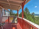 You'll love seeing these views from the deck every day!