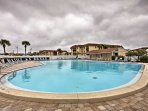 Escape the Florida heat at one of the 2 community pools.