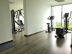 gym in apartment