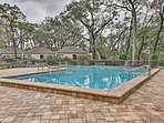 The Omni Plantation Resort offers excellent amenities including swimming pools and a fitness center.
