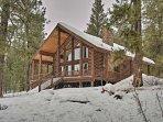 New Meadows Log Cabin on 9 Acres - Near Brundage!