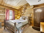 Guest bedroom suite with private entrance