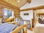 beautiful custom log beds