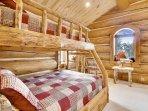 Upper bunk room off of loft area
