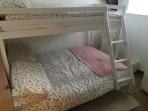 2nd bedroom Triple bunk