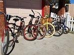 Bike around the neighborhood..tandem style too.