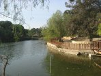 Athalassa Forest Park - Lake. Walking and Jogging track. Playground and cafe.