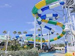 WATER PARKS WITH FREE SHUTTLE FROM SUITE.