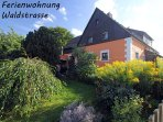 'Haus Waldstrasse' am Waldrand - Im grossen Garten freier Auslauf fur Hunde