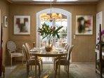 Villa Eusoia Cannes - Dining Area