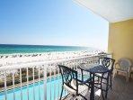 Balcony Waters Edge Resort Unit 412 Fort Walton Beach Okaloosa Island Vacation Rentals