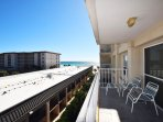 Living Room Balcony, Sea Oats Resort Okaloosa Island Fort Walton Beach Destin Vacation Rentals
