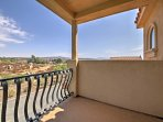 This property boasts several balconies with great views from the bedrooms and other areas of the home.
