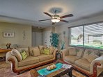 The property boasts 1,700 square feet of recently remodeled living space.