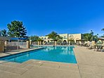 Soak up some Arizona sun by the community pool or grilling area.