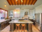 Newly-updated kitchen