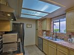 Try out your favorite recipe in the fully equipped kitchen.