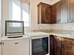 Laundry Room Full size washer & dryer