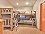 1st Level Bunk Room - Two Twin over Twin Bunk Beds with Full Bath Access