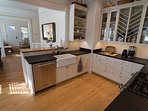 Fully equipped open plan Gourmet Kitchen.