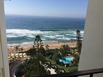 Beautiful views of the ocean, hotel gardens and pools...