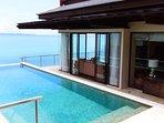 'Moon Terrace' Stunning Luxury Oceanfront Pool Villa.