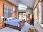 Master Bedroom has a Queen Bed