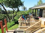 Your fun playground... soaking tub, loungers, showers, dining, panoramic ocean view