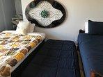 Room #4 - 1 Queen Bed + 2 Single Beds