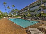 Soak up some sun by the community pool.