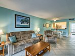 Book your next trip to this charming 2-bedroom, 2-bathroom vacation rental condo with community pool access!