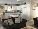 Just another view of the kitchen/living area.