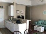 Kitchen/living area.
