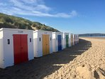 beach huts to rent in summer