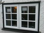 Brand new double glazed windows & French doors installed!
