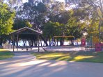 Park with BBQ facility and Children's play equipments are just 500m from the property